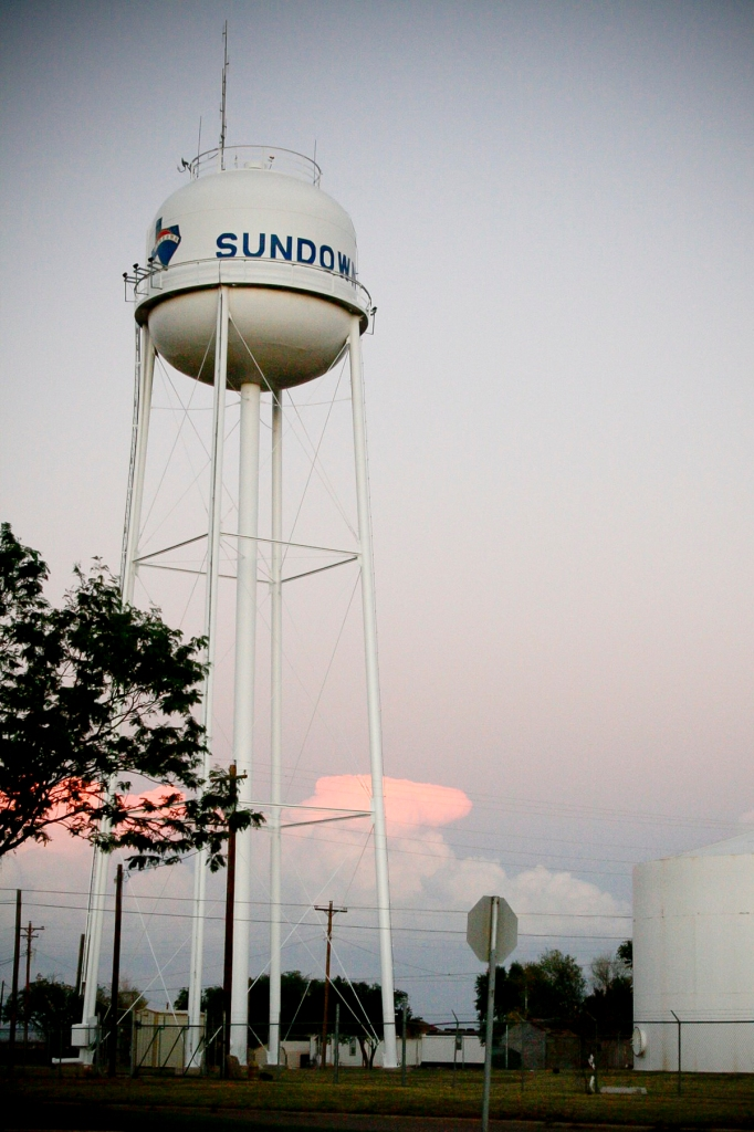 Sundown Water Tower - Ed