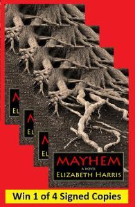 giveaway image Mayhem