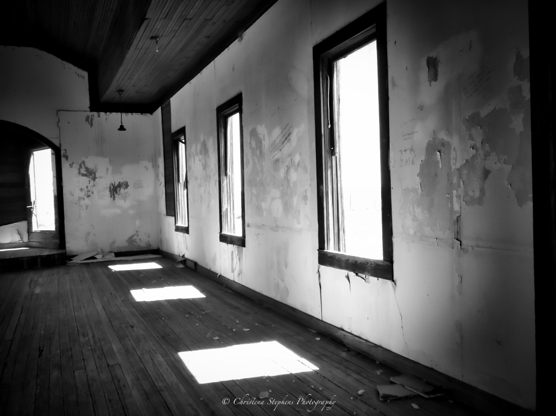 Shadows of Empty Faith - Taiban New Mexico Photograph