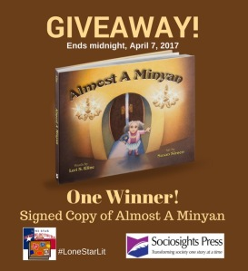 Giveaway Image Almost A Minyan