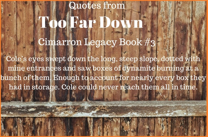Too Far Down Quotes 1