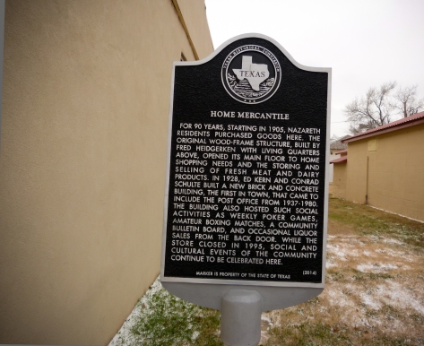 Home Mercantile Historical Marker