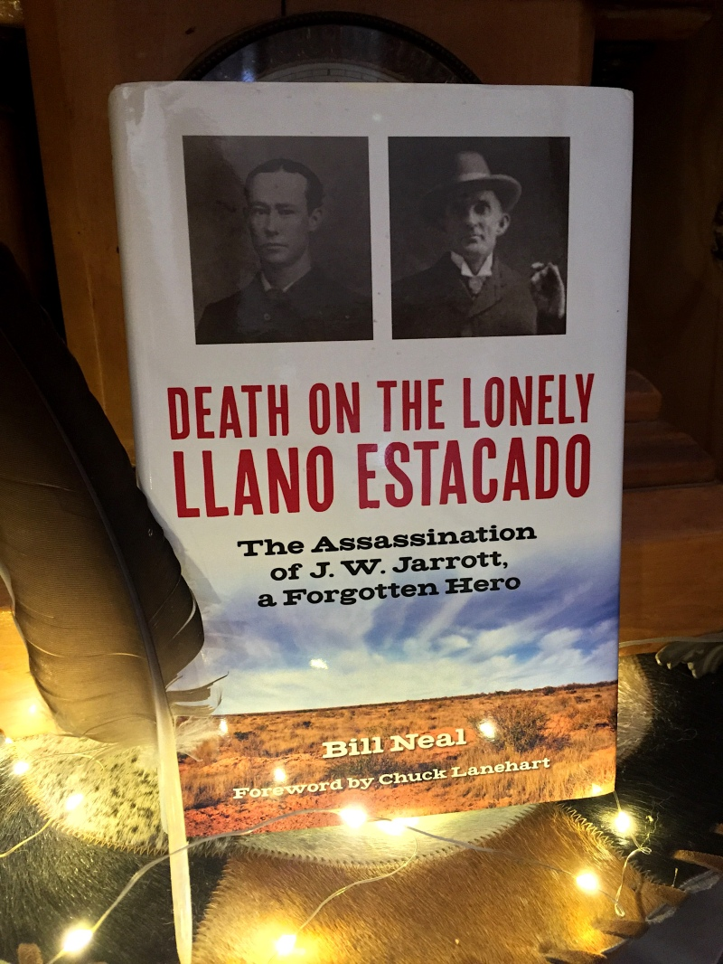 Book Cover for Death On The Lonely Llano Estacado