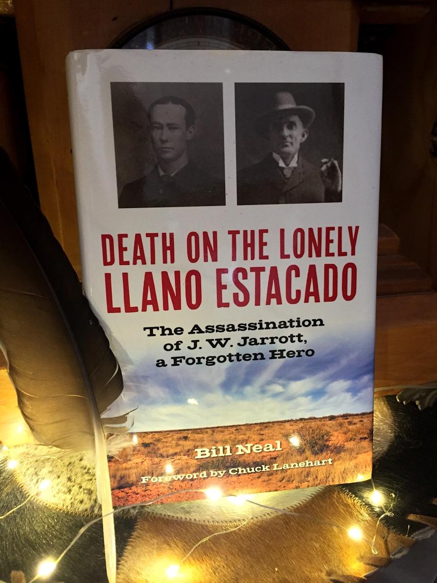 Book Cover for Death On The Lonely Llano Estacado