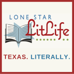 Logo of Lone Star LitLife with open book