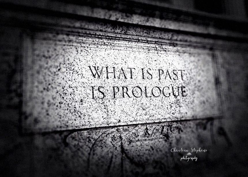 What is Past is Prolouge Main copy
