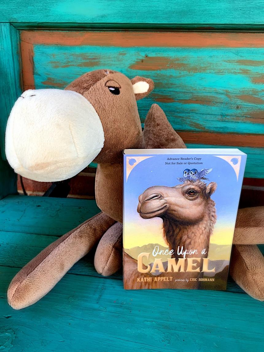 Bookstagram Once Upon a Camel - Christena